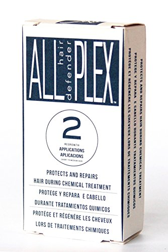 Price comparison product image ALL hd PLEX Bond Treatment 2 Application Kit for Bleaching,  Coloring,  Toning,  Perming,  Relaxers & other chemical hair services. Protects & Improves All Hair types immediately created in Italy