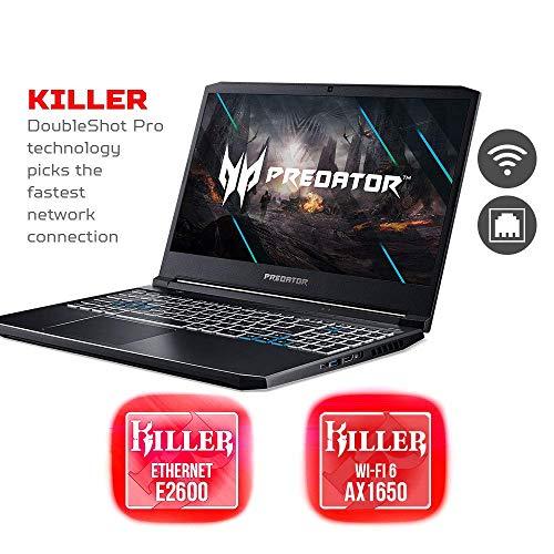 Acer Predator Helios 300 Gaming Laptop, Intel i7-10750H, NVIDIA GeForce RTX 3060 Laptop GPU, 15.6