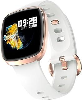 T8 Full Touch Smart Horloge Mannen Dames IPX7 Sport Fitness Tracker Hartslag Body Temperatuur Slaap Monitor Smartwatch Arm...