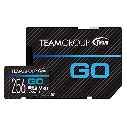 TEAMGROUP GO Card 256GB Micro SD Card for GoPro