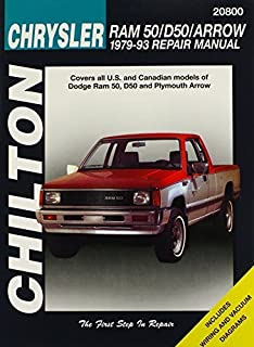 Dodge Ram 50, D50, and Arrow, 1979-93 (Chilton Total Car Care Series Manuals) by Chilton (1998-02-01)