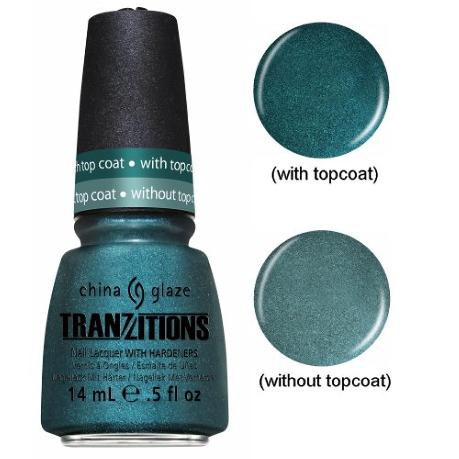 不安定教養がある目に見える(6 Pack) CHINA GLAZE Nail Lacquer - Tranzitions - Altered Reality (並行輸入品)