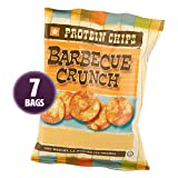 HealthSmart - Barbecue Crunch Protein Diet Chips - High Protein - Low Calorie - Low Fat - Low Carb -...