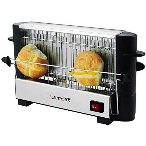 ELECTROTEK Tostador eléctrico para Todo Tipo de Pan, Capacidad 4 rebanadas ET-TPT7500