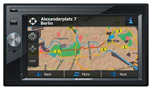 Blaupunkt Oslo 370 EU Prof. - 2-DIN Navigation mit Touchscreen / DAB / Bluetooth / TMC / USB / 3D
