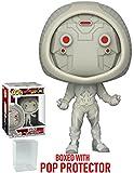 Funko Pop! Marvel: Ant-Man & The Wasp – Figura de vinilo fantasma (incluye funda protectora de caja de pop)