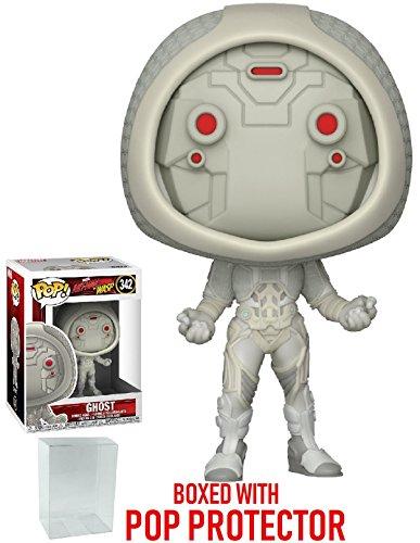 Funko Pop! Marvel: Ant-Man & The Wasp – Figura de vinilo fantasma (incluye funda protectora de...