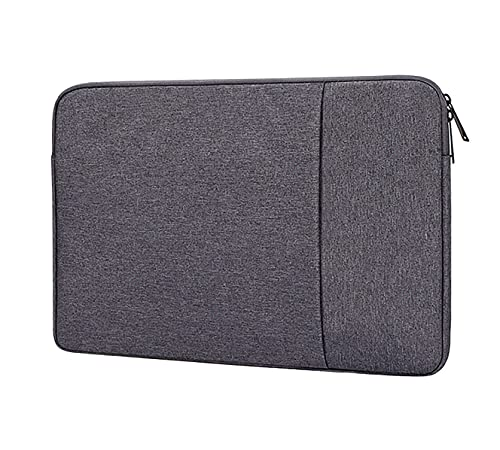 Swinno Laptop Sleeve for 13.3 inch MacBook Pro and MacBook Air, Polyester Computer Notebook Laptop Case,Waterproof Shock Resistant Tablet iPad Tab Case Bag with Accessory Pocket, Dark Gray