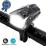 Omasi LED Fahrradlicht StVZO Zugelassen USB Wiederaufladbare Fahrradbeleuchtung fahrradlichter Wasserdicht