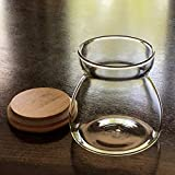 Back In Stock-Airtight Jar, 23.67 FL OZ (700 ML) Glass Storage Canisters Containers For Coffee, Kitchen Spices & Many More. Borosilicate Jar Bamboo Lid, Freezer & Heat Resistant. Quantity 1 Per Order.