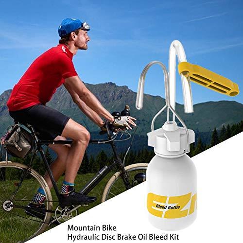 SOWLFE Kit de Purga de Freno de Bicicleta - Kit de Purga...
