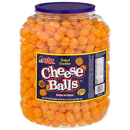 Utz Cheese Balls – 35 Ounce Barrel