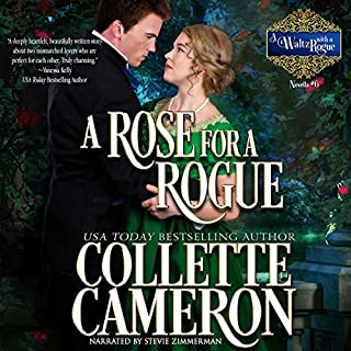 A Rose for a Rogue: A Historical Regency Romance cover art