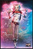 Suicide Squad Poster Stehend Harley Quinn (93x62 cm)