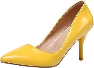 e4b13fe5b6c Artfaerie Womens Stiletto High Heel Pointed Toe Dress Pumps Elegant Heels  Court Shoes