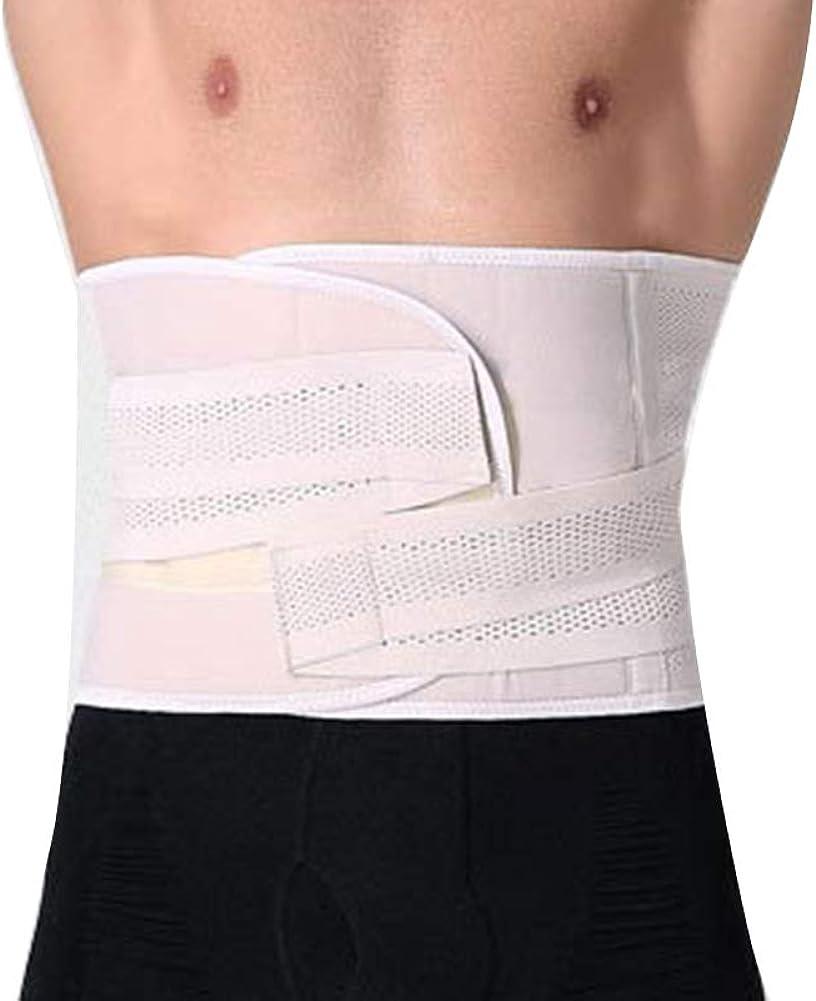 Herren Taillengürtel Schutz Einstellbar Männer Bauchband Shapewear ...