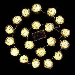 Landhausstil Dekoration Lichterkette