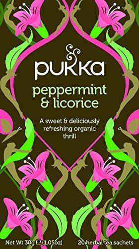 Pukka Herbs Bio Pfefferminz & Süßholz Teemischung, 30 g