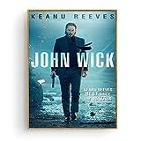 xiongda John Wick Keanu Reeves Film Poster und Druck