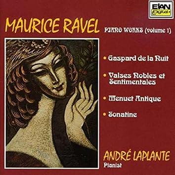 Maurice Ravel: Piano Works, Vol. 1