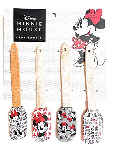 Minnie Mouse 4 Pack Spatula Set
