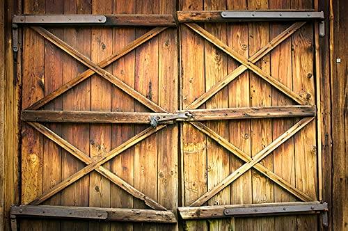 Fondo Fotografia 1.8x2.8m Puerta de Madera para Portrait Fotógrafos Estudio Foto Fondo Prop Video Televisión Photocall