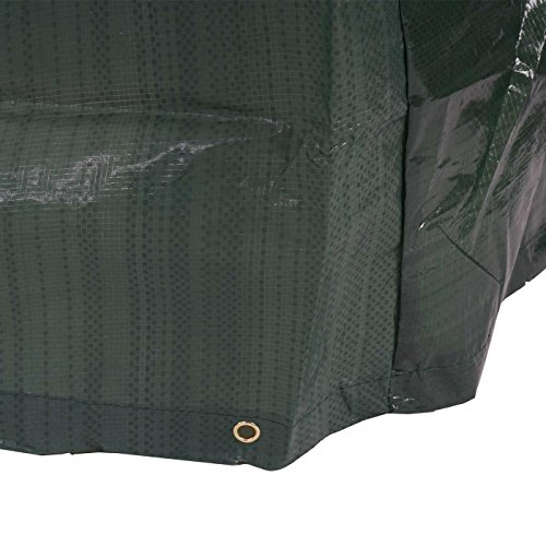 Mendler Housse de Protection pour Tables de Jardin 240x140x90cm ~ poly/éthyl/ène