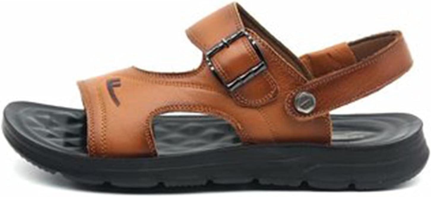 Mens Hiking Sandals Women Walking Sports Sandals Outdoor Trekking Summer Beach Shoes Casual Light Open Toe flip Flops Fashion Elegant Comfortable Thick Bottom Shoes (Color : Beige, Size : 42)