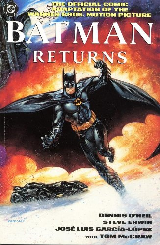 THE OFFICIAL COMIC ADAPTATION OF THE WARNER BROS. MOTION PICTURE BATMAN RETURNS