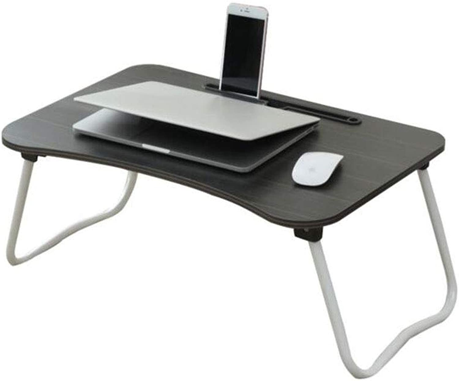 Goquik Computer Desk Bed with College Dormitory Small Table Foldable Lazy Learning Writing Desk