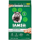 IAMS PROACTIVE HEALTH HEALTHY SENIOR Dry Cat Food with Chicken, 16 lb. Bag