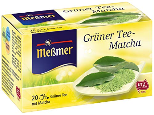 Meßmer Grüner Tee-Matcha 20 Teebeutel, 30 g