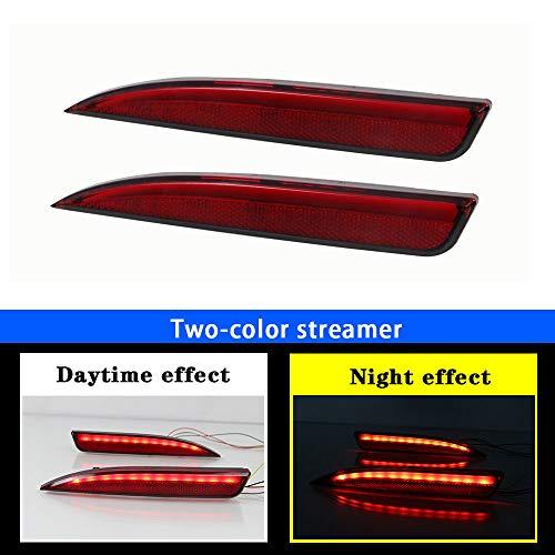 DBL 2 Rückleuchten für V olkswagen Scirocco 2008-2014 LED Heckleuchten,mit Dynamik Blinker,LED Technik Rücklichter,Rot
