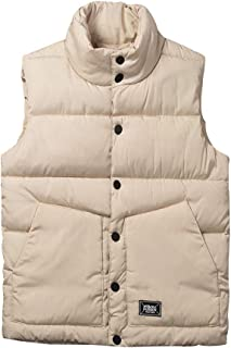 XFentech Unisex Winter Gilet - Womens Mens Puffer Quilted Vest Couple Warm Sleeveless Jacket Body Warmer