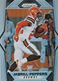 2017 Panini Prizm #274 Jabrill Peppers Cleveland Browns Rookie Football Card. rookie card picture
