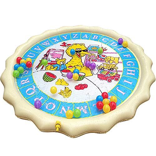 KINGDUO 150 cm été Natation Matelas pneumatique Enfants Gonflable bébé Splash Eau Pad Tapis de Jeu Enfants pataugeoire Jouets