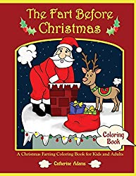 the fart before christmas coloring book