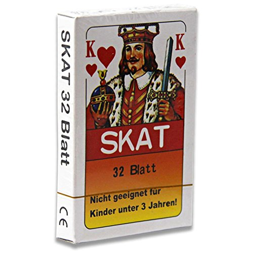 12 x Skatkarten Skatkarte Spielkarte 32 Blatt Skat Karten Französische Blatt