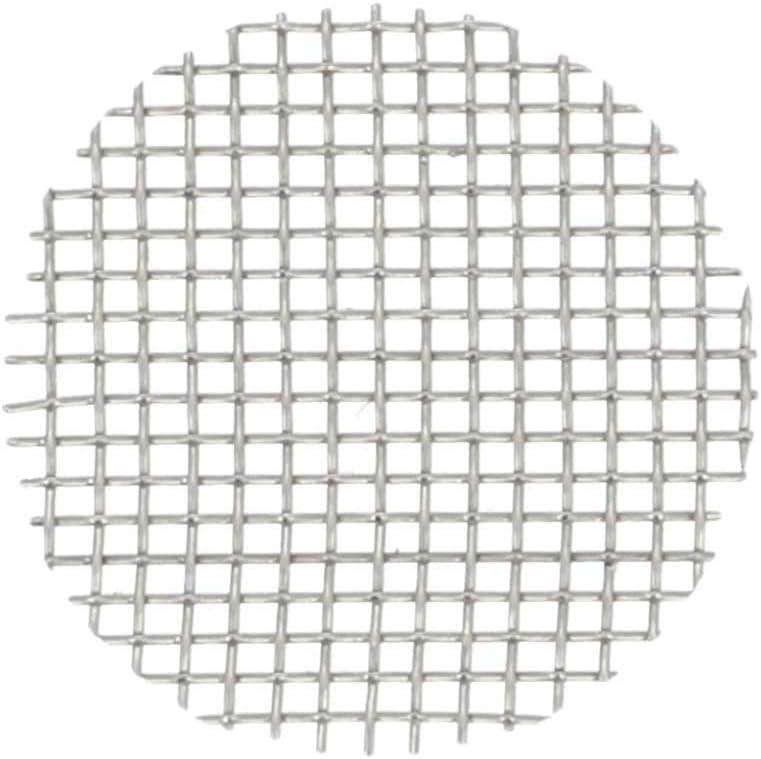 Aryva Rejilla Cedazo Filtro por Bong y Cachimba deMallatupida | Diámetro Ø = 12,7 mm | por Bongs y pequeñas Cazoletas Cabezal Narguile | Pack de 5 (12.7mm)
