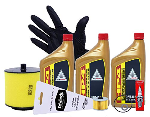 Edwards Semi Synthetic Oil Change Kit fits 1998-2004 Honda TRX450 TRX 450 Foreman ATV