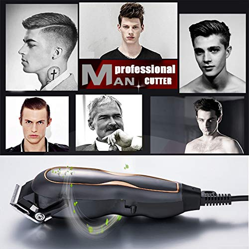 2020 Professional Hair Clippers Electric Razor Ultra Mute haar knippen Salon Barber Mannen Hair snijmachine Wired 220V