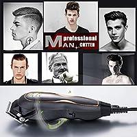 2020プロのヘアクリッパー電気かみそり超ミュートヘアーカットサロン理容室男性の髪切断機有線220V