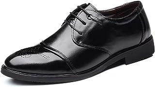 [Agogoo] メダリオン ウイングチップ カジュアルシューズ メ革靴 メンズ ビジネスシューズ 四季 就活 通勤