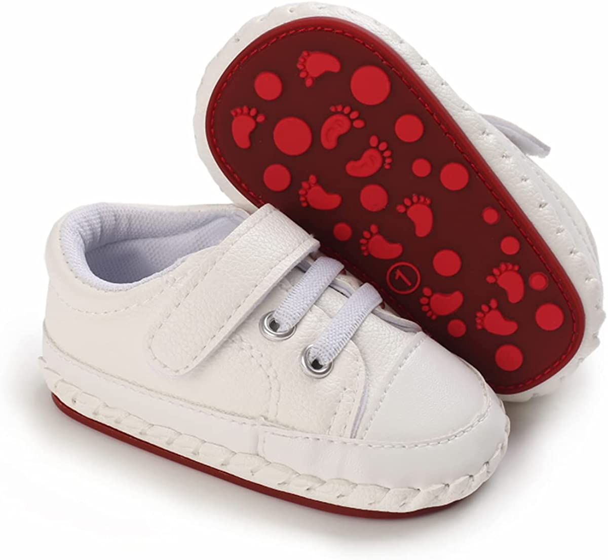 LAFEGEN Baby price Boys Girls Walking Shoes PU Bottom Le Non Cheap bargain Slip Hard