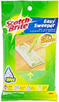 Scotch-Brite Easy Sweeper Wet Sheets Refill, Green, Pack of 8