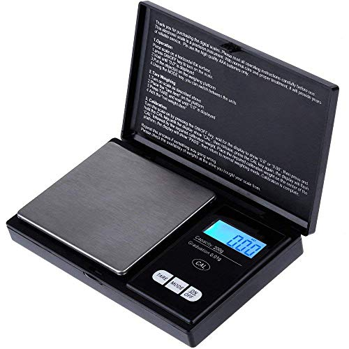 Digital Electronic Kitchen Scale Poche Food Mini poids LCD 0.01g-500g pesage