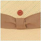 Mayser Orginal Panama-Hut | Stroh-Hut | Sommer-Hut aus Ecuador –Traditionell Handgeflochten, UV-Schutz 40, Wasserabweisend, Bruchschutz (59, Natur/Beige) - 3