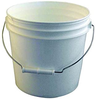 Bon 84-230 3-1/2-Gallon Reinforced Plastic Bucket, White