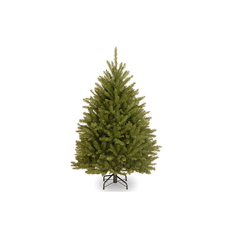 silk flower arrangements national tree company artificial christmas tree   includes stand   dunhill fir - 4 ft