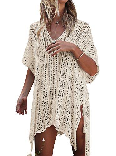 Vestidos Playa Bikini Mujer Pareo Kimono Blanco Vestir Verano Regalo